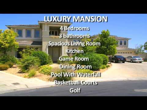 Luxury Mansion in Las Vegas for RENT
