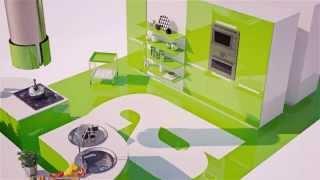 Кухни на заказ в Хабаровске.(Мебельный салон Can-Style. Комсомольская, 38. +7(4212) 66-74-74., 2015-09-25T01:59:02.000Z)
