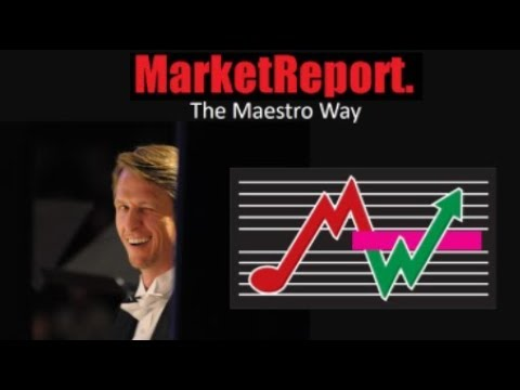 Today's Market Report Brought to You By The Maestro!