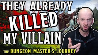 They Killed My Villain! Dungeon Master Problems