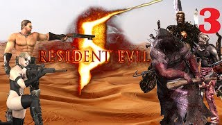 Resident Evil 5 on Veteran - They have a cave troll