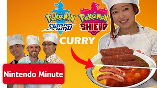 Making Pokémon Curry w/ Developers of Pokémon Sword & Pokémon Shield