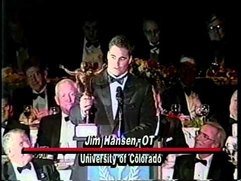 Jim Hansen (Colorado) - 1992 Campbell Trophy Speech