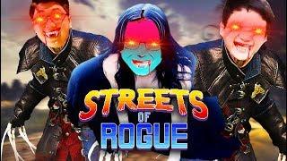 STREETS OF ROGUE #1: TEAM ĐỤT HÓA VAMPIRE BÚ MÁU CẢ THÀNH PHỐ =)))) - GTA phiên bản pixel là đây !!!