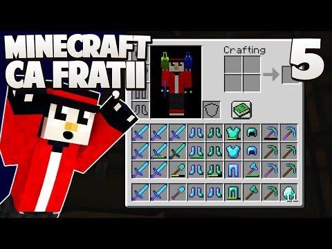 100 DIAMANTE + LEVEL 86 = NEBUNIE TOTALA! - Minecraft Ca Fratii [Ep.5]