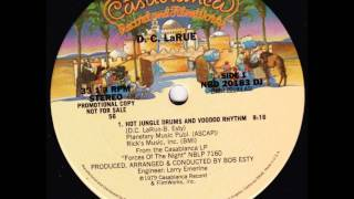 D.C. Larue - Hot jungle drums and voodoo rhythm (1979) 12""