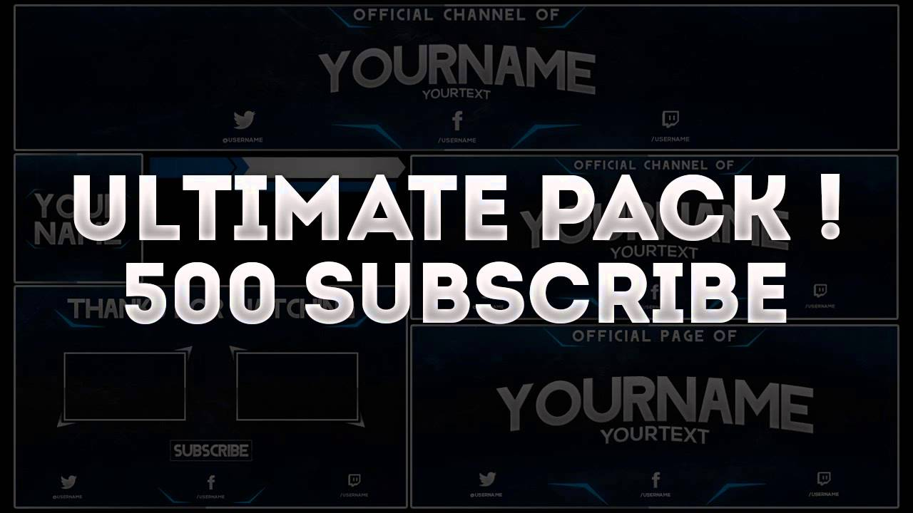 Best Free Templates » free youtube outro template | Free Templates