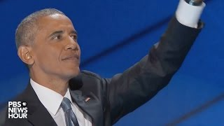 President Obama's farewell speech at 2016 Democratic National Convention Free HD Video