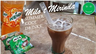 MILO MIRINDA COOL DRINKS