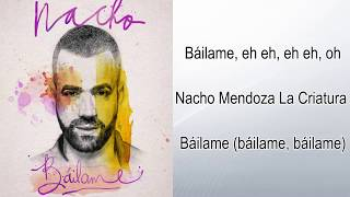 Nacho - Bailame Official (Instrumental) Original