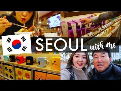 Seoul, Korea TRAVEL VLOG: Myeongdong Shopping, Food, Family, Friends | hellolynnpark