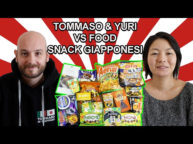 SNACK GIAPPONESI - TOMMASO & YURI VS FOOD Ep. 7