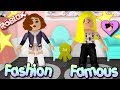 Roblox Fashion Famous - Dress up and Style Gameplay with Titi