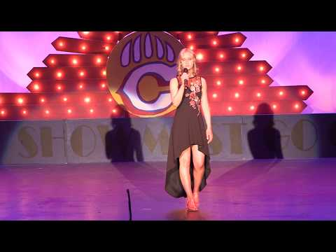 """Brooke Archer, 16 yrs old, singing """"Never Enough"""" from The Greatest Showman"""