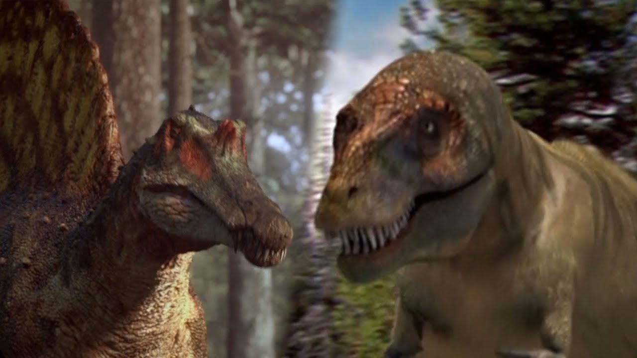 Spinosaurus VS T-Rex: Who Would Win? | Deadly Dinosaurs | Earth Unplugged