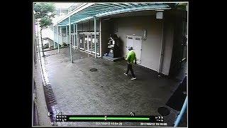 防犯カメラに男の映像 拳銃を持って逃走か 神戸射殺事件