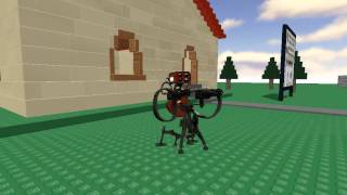 TF2 Sentry gun in roblox test.