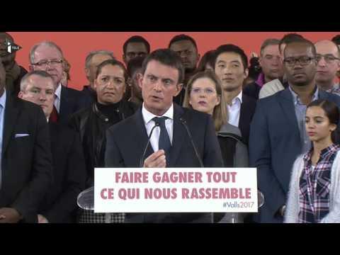 """Manuel Valls : """"Oui, je suis candidat à la présidence de la République"""""""