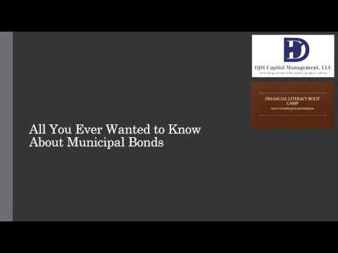 All You Ever Wanted To Know About Municipal Bonds