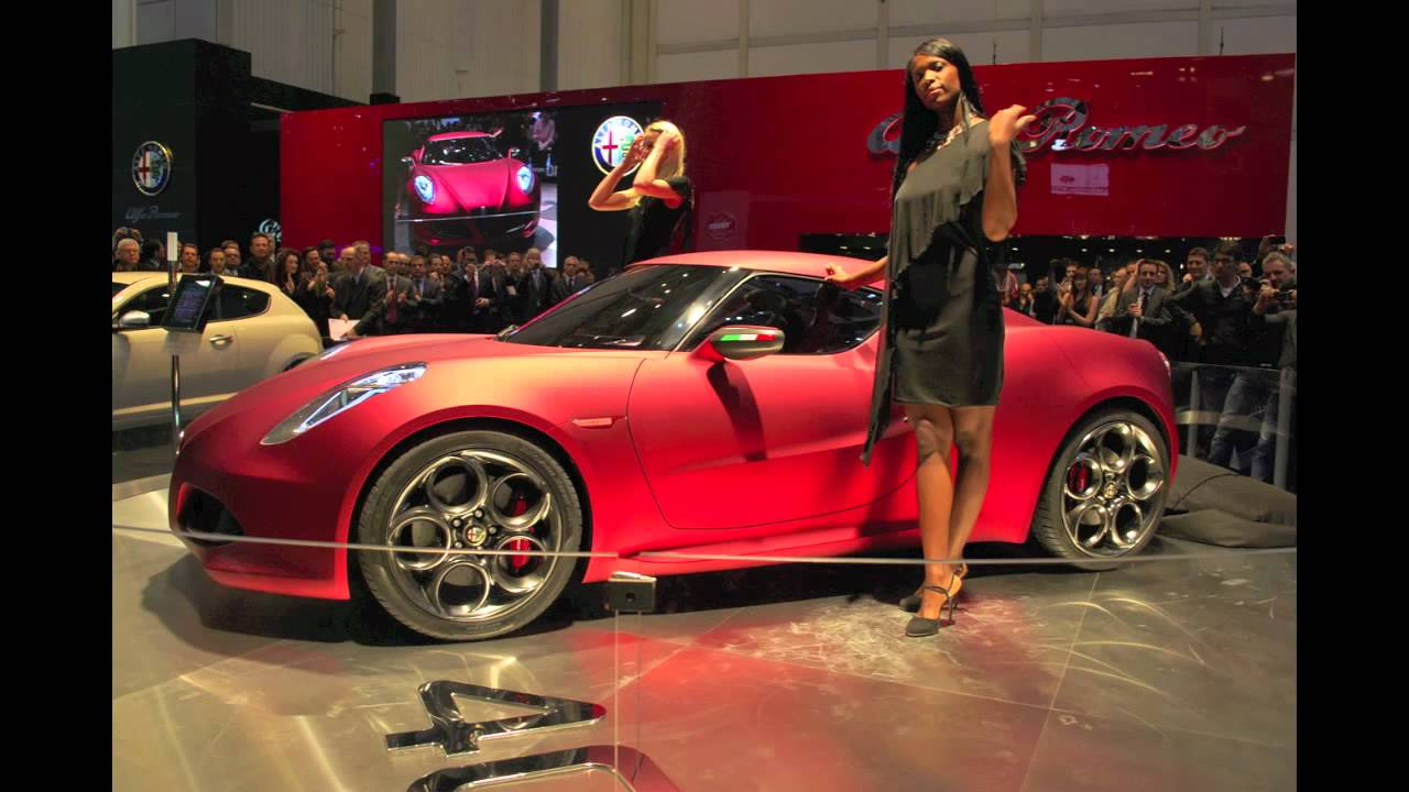 alfa romeo c4 strong showing at geneva auto show youtube. Black Bedroom Furniture Sets. Home Design Ideas