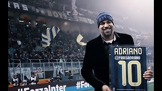 Adriano Imperador receives homage from Inter Milan HD 21/12/2016