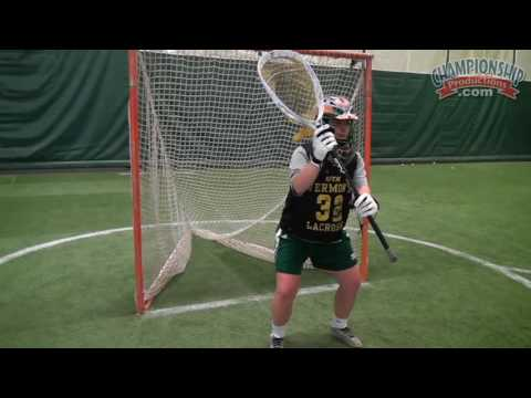 Reaction And Readiness Drills For Goalies - Remington Steele