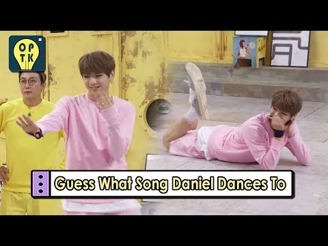 [Oppa Thinking - Wanna One] Guess What Songs Daniel Dances To 20170911