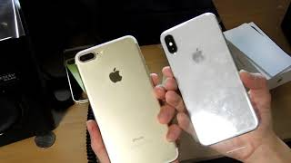 [iphone X unboxing] đập hộp iphone X silver 64gb
