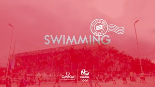 OMEGA at Rio 2016 - Swimming timekeeping