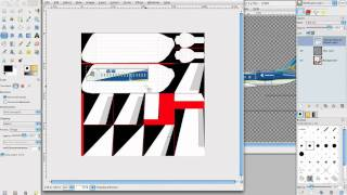 PlaneMaker Tutorial 10: Painting the Plane with GIMP