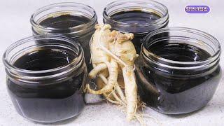천연 감기약 홍삼 조청 맛은 꿀 처럼 시간은 반절로 줄…
