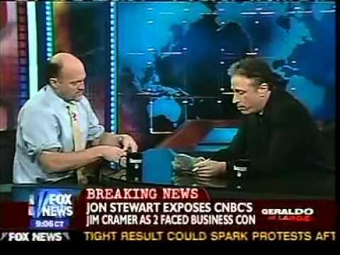 More Jon Stewart Vs Jim Kramer   YouTube