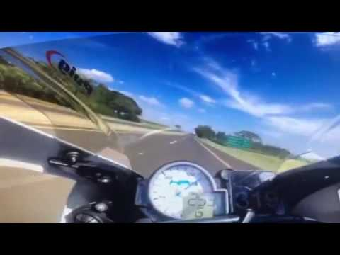 bmw hp4 top speed 348 km h in gps youtube. Black Bedroom Furniture Sets. Home Design Ideas