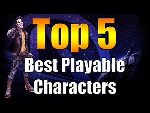 Borderlands The Pre Sequel | Top 5 | Best Playable Characters