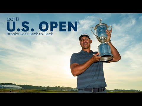 2018 U.S. Open: Brooks Goes Back To Back