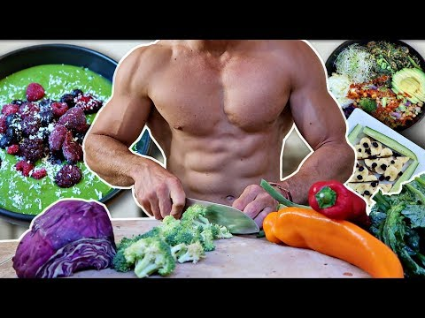 EATING VEGAN FOR MUSCLE & HEALTH (WHAT I EAT IN A DAY)