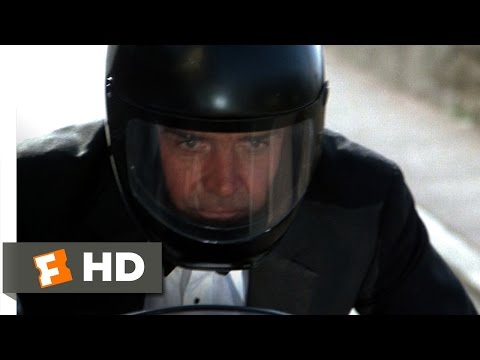 Never Say Never Again (6/10) Movie CLIP - Motorcycle Chase (1983) HD