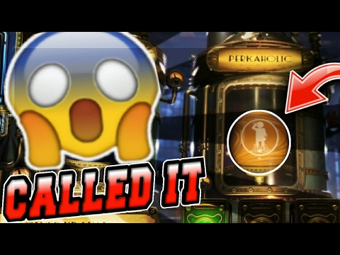 CALLING A PERKAHOLIC ON BLACK OPS 3 ZOMBIES!! (CHRONICLES KINO)
