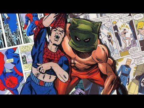 5 trajes ridículos que ha usado SpiderMan