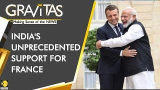Gravitas: India supports Emmanuel Macron