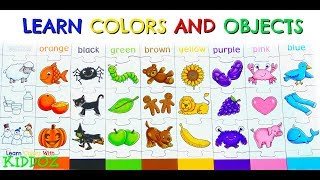 Learn Colors and Objects