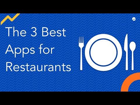 The 3 Best Apps for Restaurants