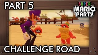 Super Mario Party: Challenge Road (Solo Mode) Part 5 - Salty Sea