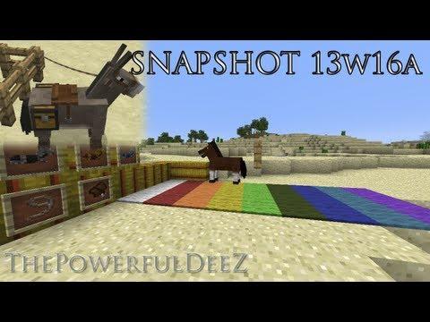 snapshot 13w16a minecraft sp