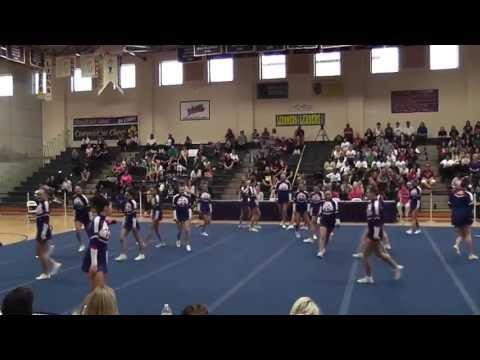 Kempsville High School Virginia Beach Cheerleading Distric 2012