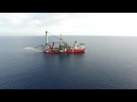CyAero: SEVEN BOREALIS - Giant Crane Vessel near Limassol, Dasoudi