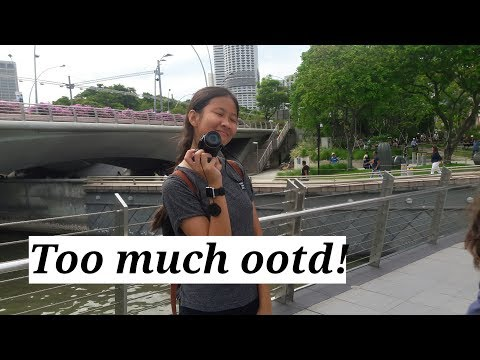 VLOG: Singapore #toomuchootd