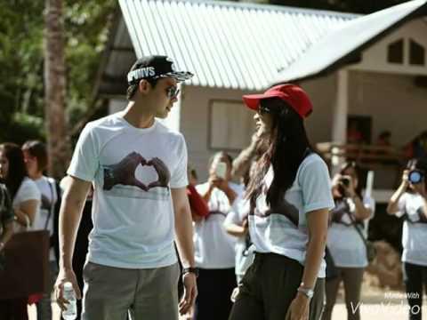 ภาพสุดสวีท หมาก-คิมจูงมือกันเดินเล่น ชมธรรมชาติแสนสวย