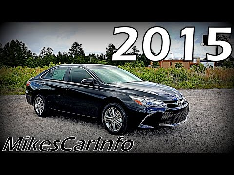 2015 Toyota Camry SE - Ultimate In-Depth Look