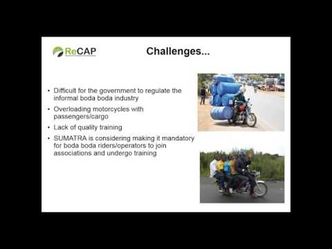 ReCAP/Transaid Webinar: Motorcycle Taxis in the Rural Context in Sub-Saharan Africa and South Asia